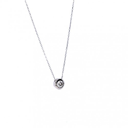 Silver chain with pendant