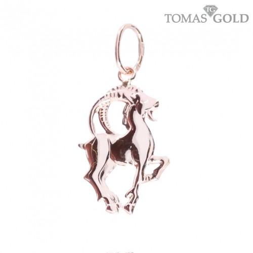 Golden pendant